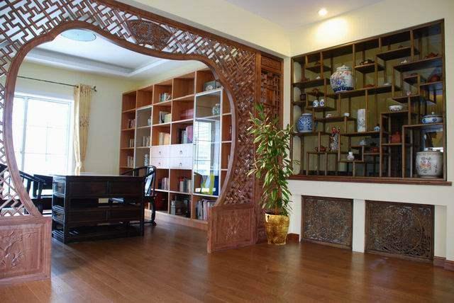 上海罗山别墅-------中西结合,混搭风_调整大小 书房3.JPG