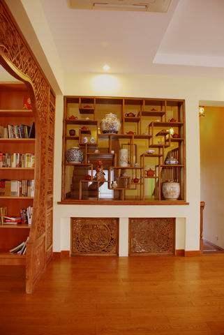 上海罗山别墅-------中西结合,混搭风_调整大小 书房9.JPG