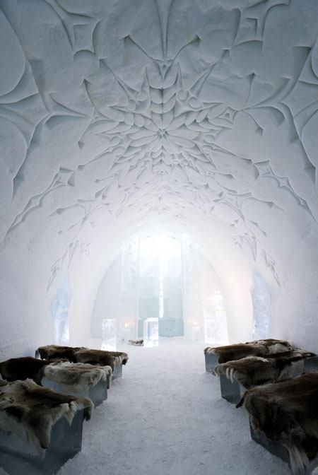 你愿意和我一起走遍世界上的教堂吗?_瑞典冰教堂