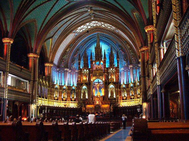 你愿意和我一起走遍世界上的教堂吗?_montreal的圣母大教堂5.jpg