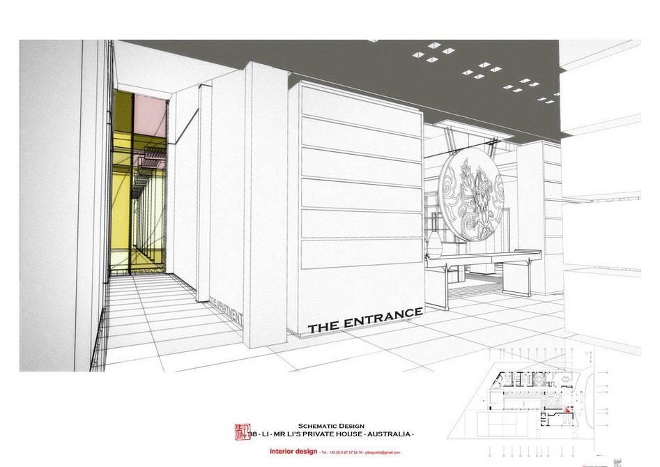 法国托马斯的别墅设计方案【偶得之】_LI -  PRES - ENTRANCE 2.jpg