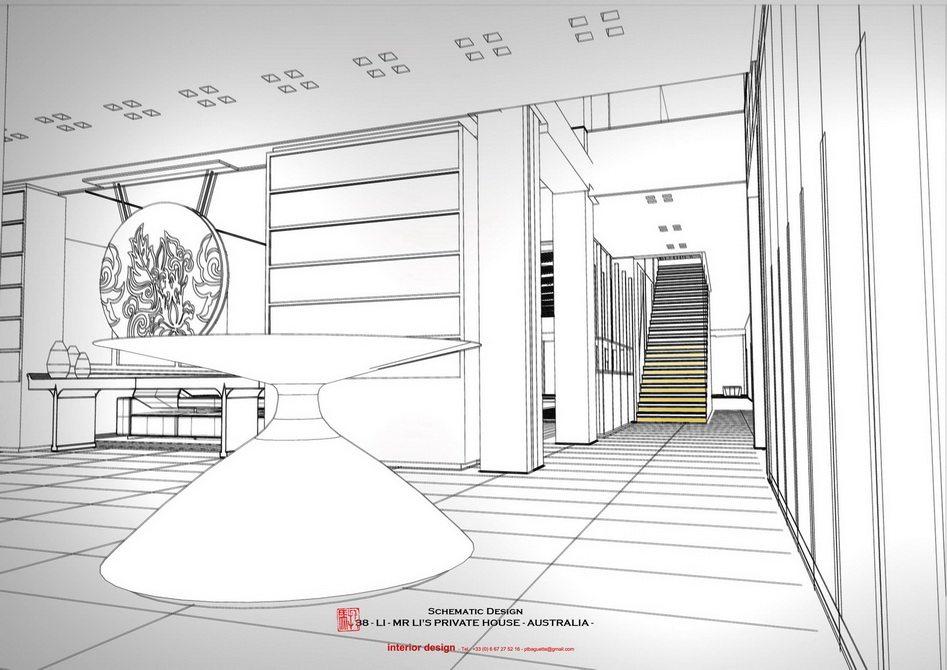 法国托马斯的别墅设计方案【偶得之】_LI -  PRES - ENTRANCE 3.jpg