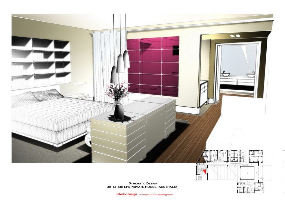 法国托马斯的别墅设计方案【偶得之】_LI -  PRES - MAIN BEDROOM 1.jpg