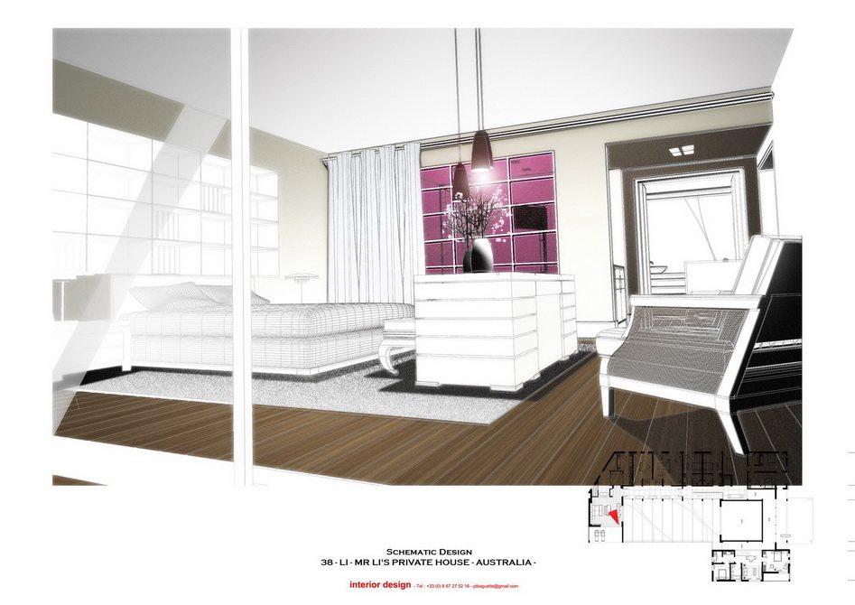 法国托马斯的别墅设计方案【偶得之】_LI -  PRES - MAIN BEDROOM 2.jpg