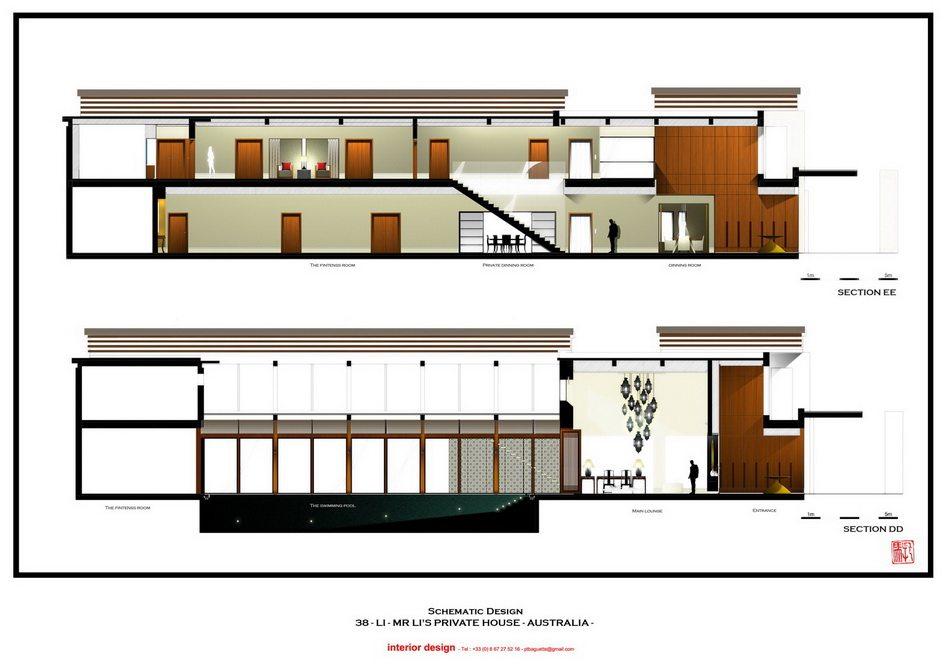法国托马斯的别墅设计方案【偶得之】_LI -  PRES - SCHEMATIQUE SECTION DD EE.jpg