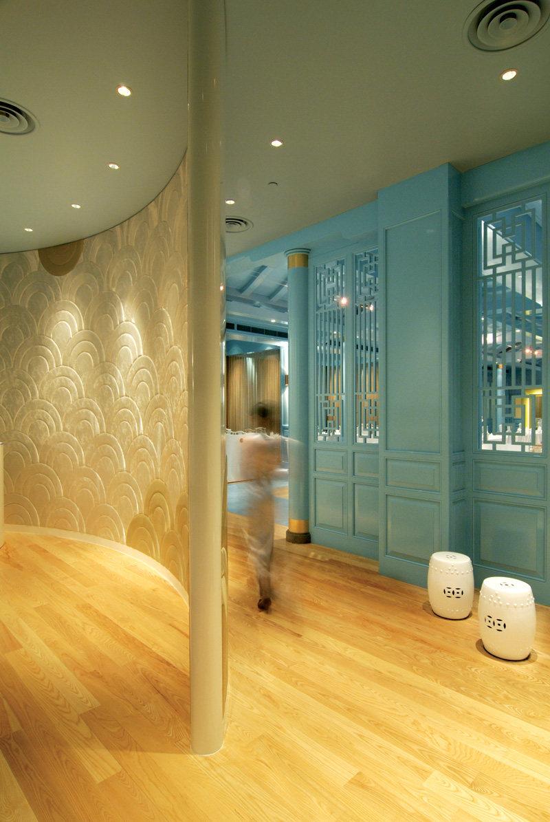 新加坡莱佛士酒店的皇朝餐厅  ( 中餐厅新的视觉感官 )_ROYAL CHINA3.jpg