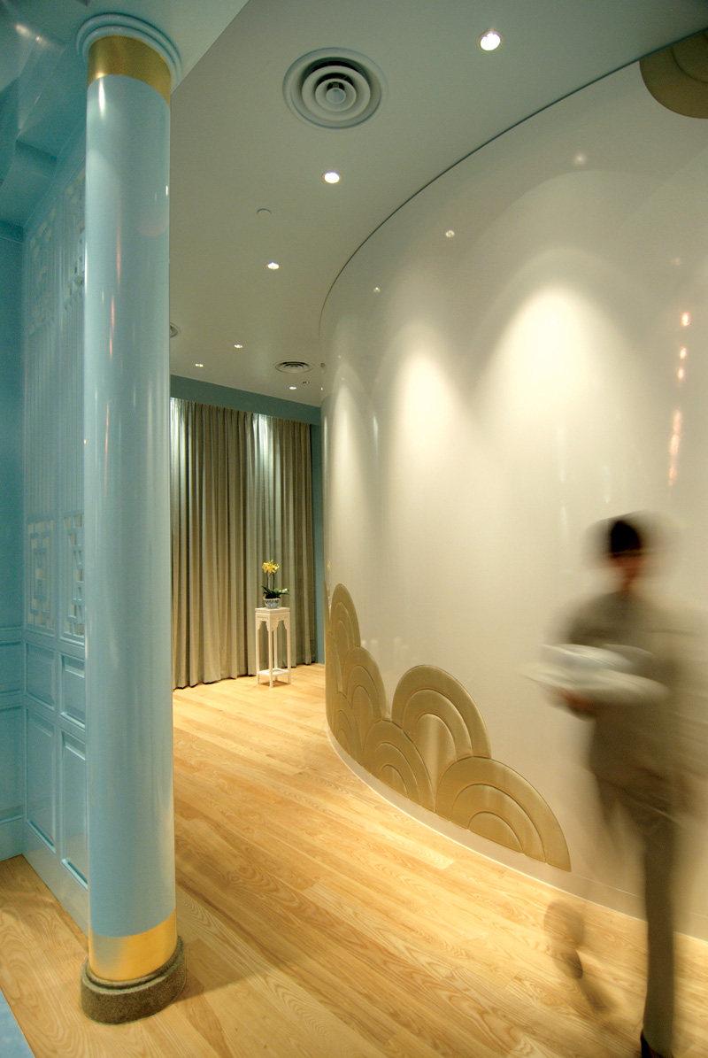 新加坡莱佛士酒店的皇朝餐厅  ( 中餐厅新的视觉感官 )_ROYAL CHINA4.jpg