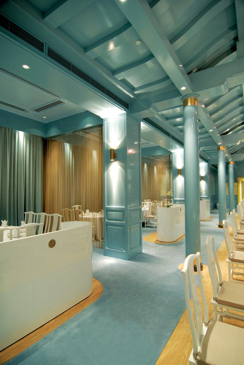 新加坡莱佛士酒店的皇朝餐厅  ( 中餐厅新的视觉感官 )_ROYAL CHINA5.jpg