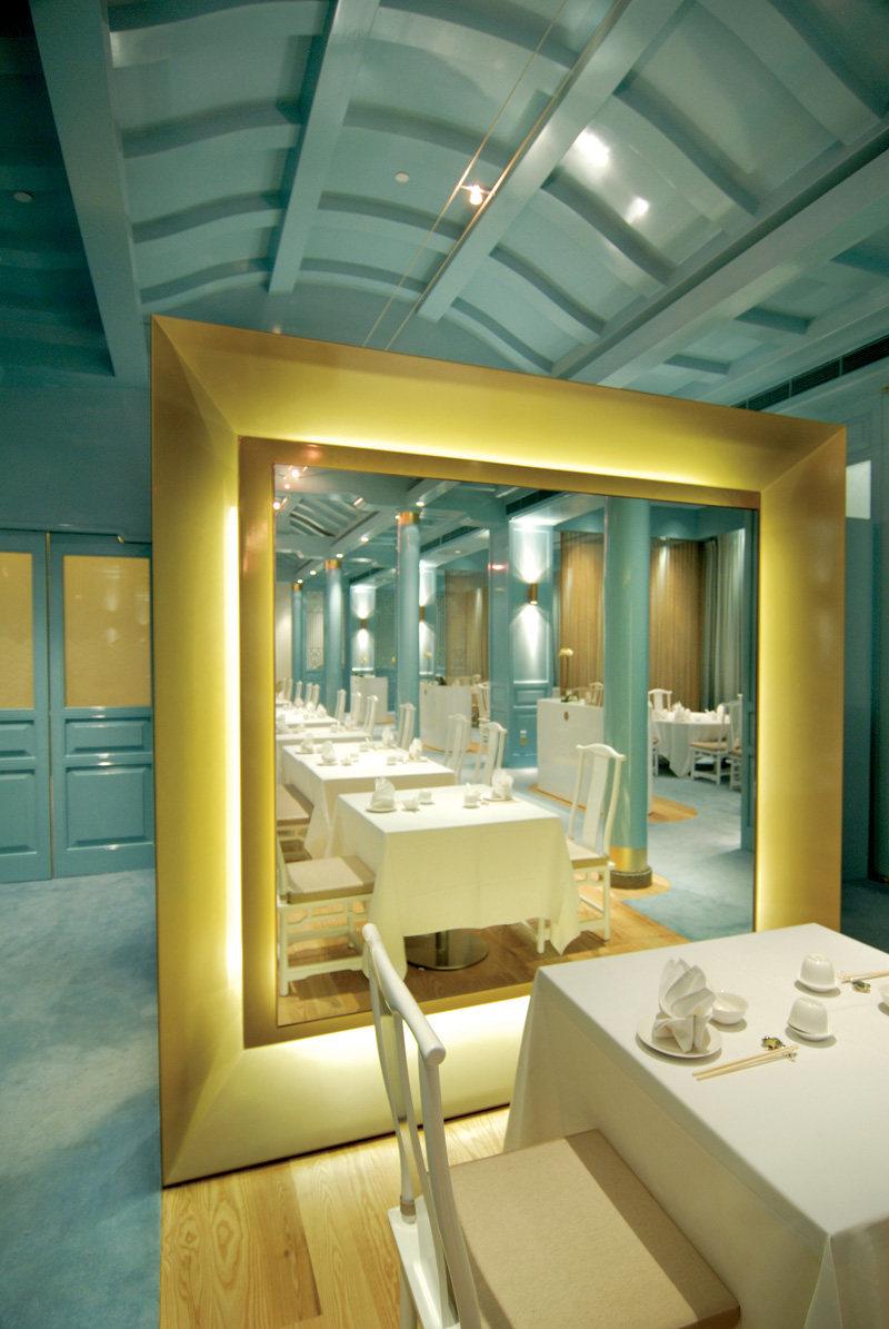 新加坡莱佛士酒店的皇朝餐厅  ( 中餐厅新的视觉感官 )_ROYAL CHINA7.jpg