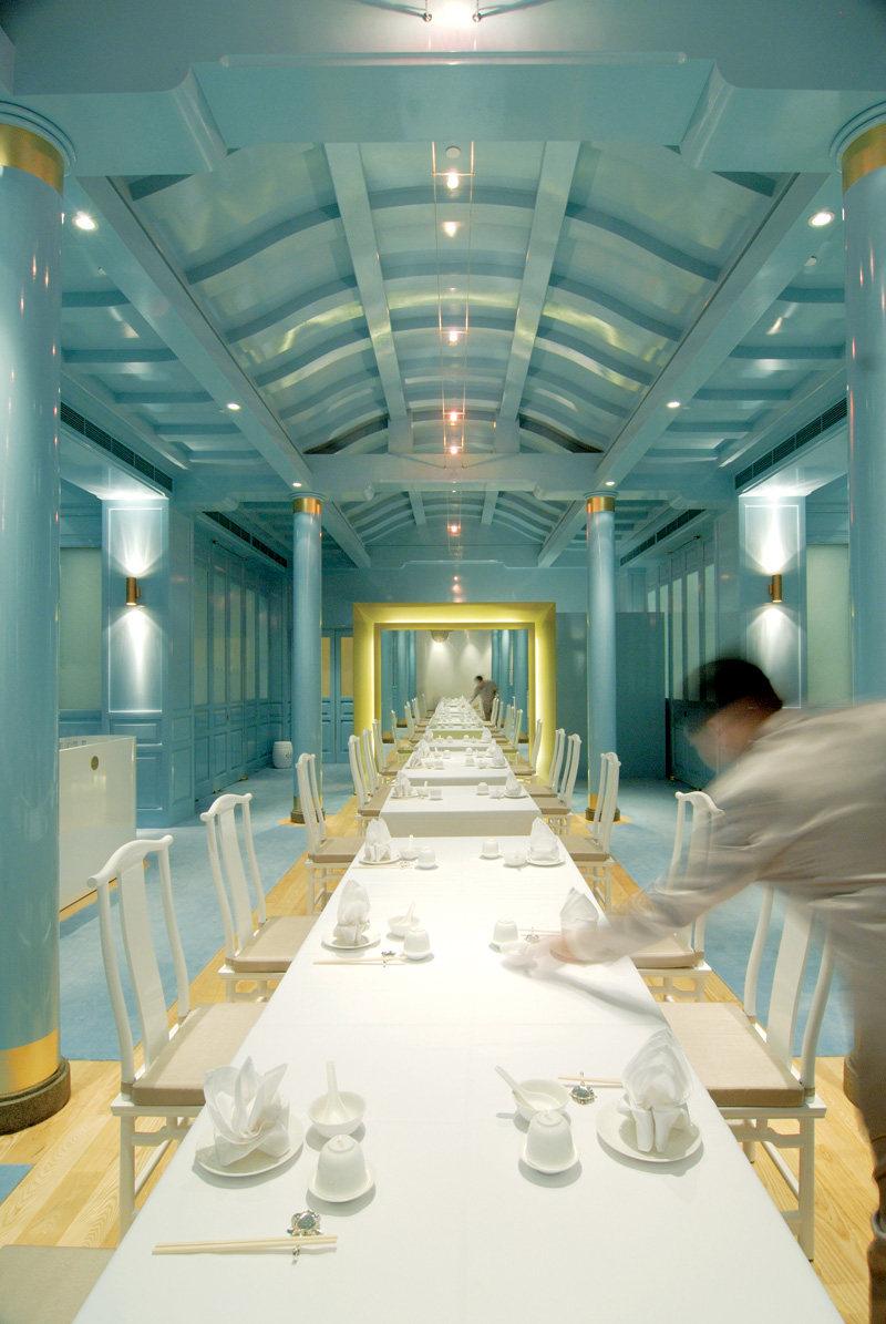 新加坡莱佛士酒店的皇朝餐厅  ( 中餐厅新的视觉感官 )_ROYAL CHINA8.jpg