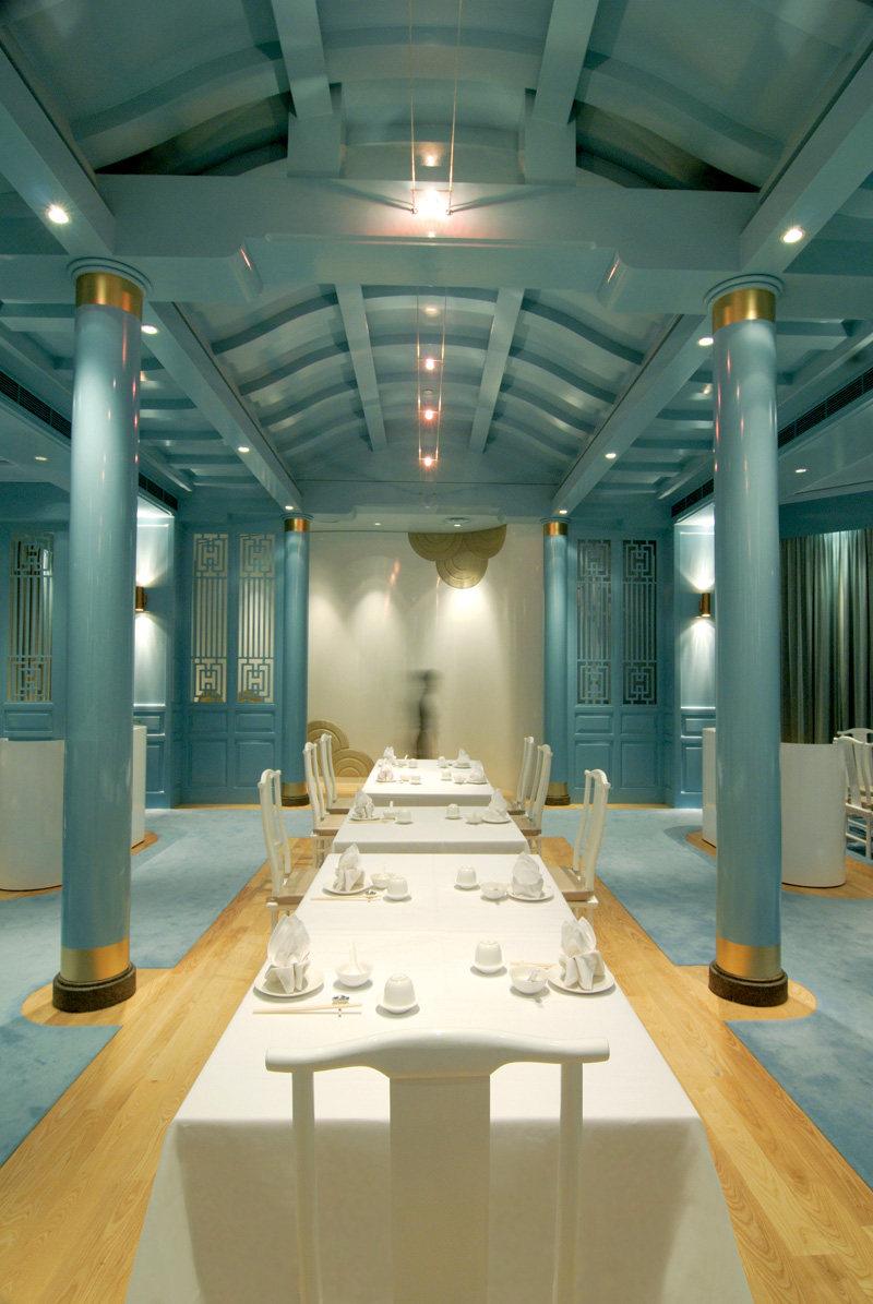 新加坡莱佛士酒店的皇朝餐厅  ( 中餐厅新的视觉感官 )_ROYAL CHINA9.jpg