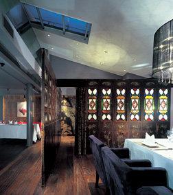 Top restaurant design 高级餐饮空间案例_(谢)迷食餐厅 二层包房2.jpg
