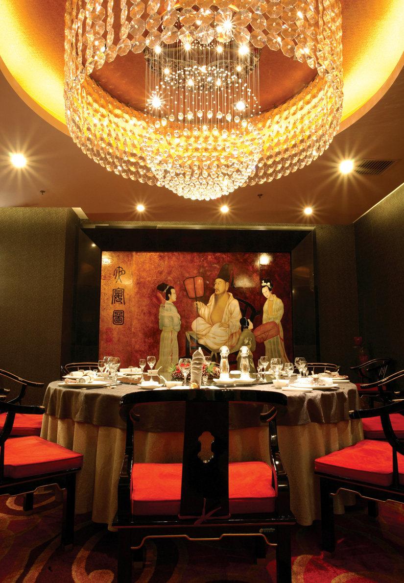 Top restaurant design 高级餐饮空间案例_一品天下 包房2.jpg