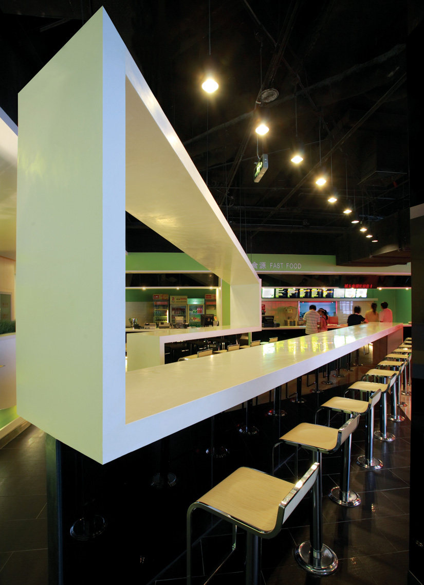 "Top restaurant design 高级餐饮空间案例_(谢)立和空间 设计师是在玩笑着用一张""纸条""折叠出了一个让人意想不到的自由伸展.jpg"