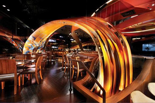 Top restaurant design 高级餐饮空间案例_(谢)Sushi RIBBON.jpg