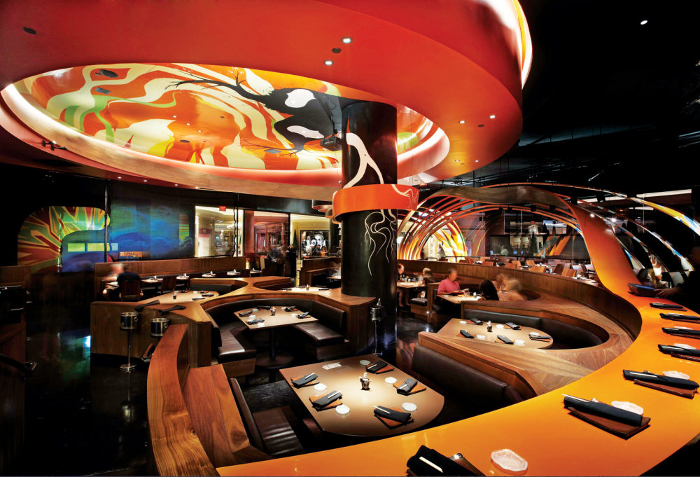 Top restaurant design 高级餐饮空间案例_(谢)Sushi_Samba_center.jpg