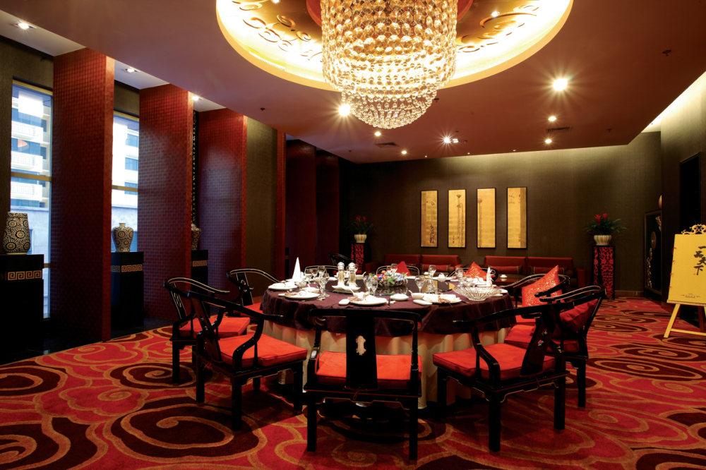 Top restaurant design 高级餐饮空间案例_一品天下 包房1.jpg