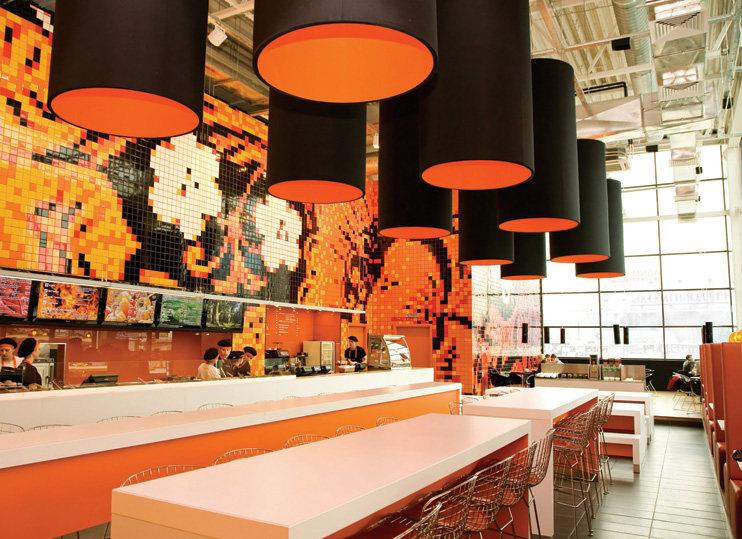 Top restaurant design 高级餐饮空间案例_(谢)Teaspoon Main seating area.jpg