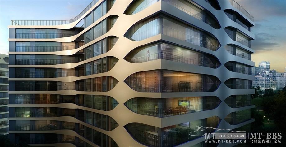 UNStudio (United Network Studio )_I'Park City, Suwon, Korea  水原市I'PARK城81栋住宅塔楼规划与建筑项目(韩国。2007-2012) ...