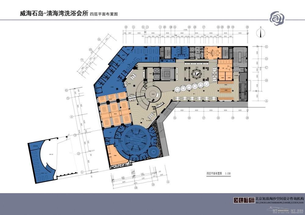 北京旭浪淘沙--山东威海石岛清水湾洗浴会所概念设计20110712_006 四层平面布置图.jpg