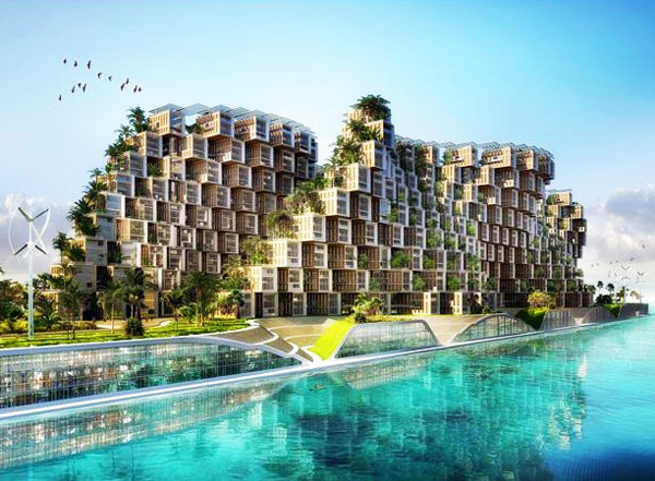 Vincent Callebaut Unveils Coral-Inspired Carbon Neutral Eco Village for Haiti (1).jpg