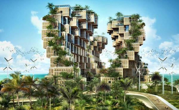 Vincent Callebaut Unveils Coral-Inspired Carbon Neutral Eco Village for Haiti (2).jpg