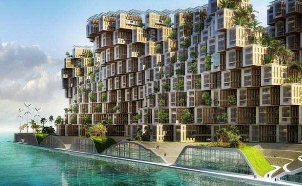 Vincent Callebaut Unveils Coral-Inspired Carbon Neutral Eco Village for Haiti (3).jpg