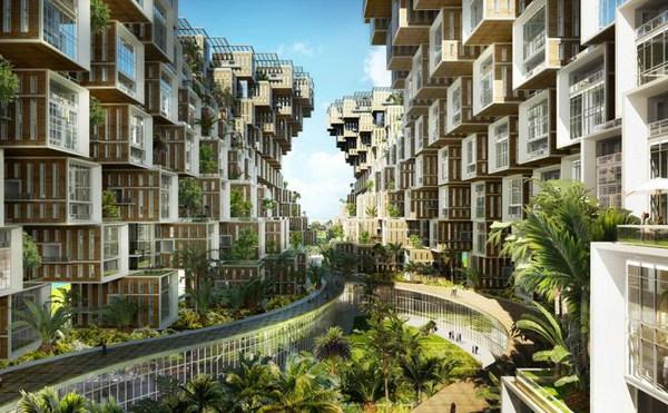 Vincent Callebaut Unveils Coral-Inspired Carbon Neutral Eco Village for Haiti (4).jpg
