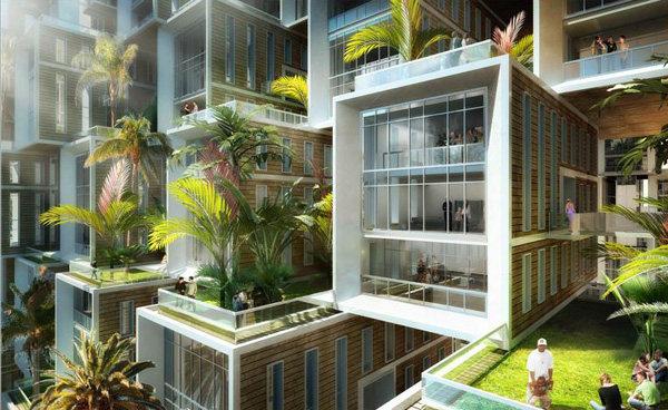 Vincent Callebaut Unveils Coral-Inspired Carbon Neutral Eco Village for Haiti (5).jpg