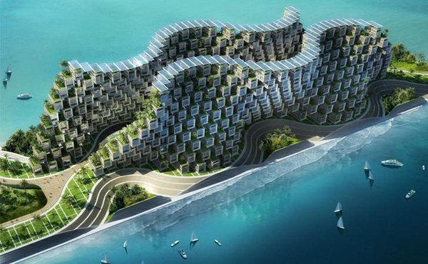Vincent Callebaut Unveils Coral-Inspired Carbon Neutral Eco Village for Haiti (7).jpg