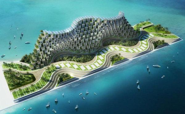 Vincent Callebaut Unveils Coral-Inspired Carbon Neutral Eco Village for Haiti (8).jpg