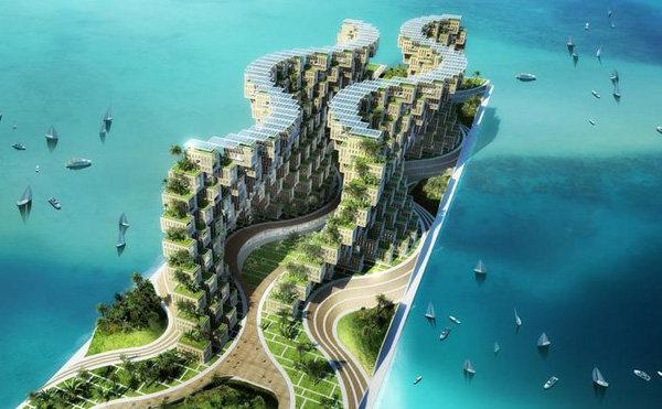 Vincent Callebaut Unveils Coral-Inspired Carbon Neutral Eco Village for Haiti (10).jpg
