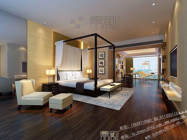 17gs-侨香公寓-10公寓样板房主卧室、书房-hh.jpg