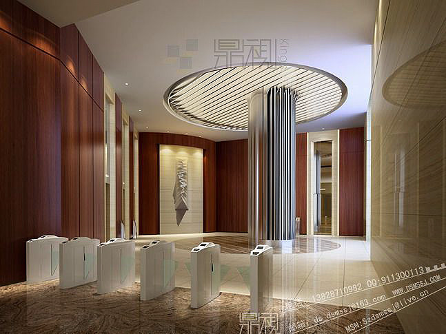 18 ybs-厦门酒店-一层电梯间.jpg