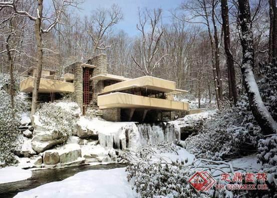 本世纪美国的一位最重要的建筑师----流水别墅_010754571585720627.jpg