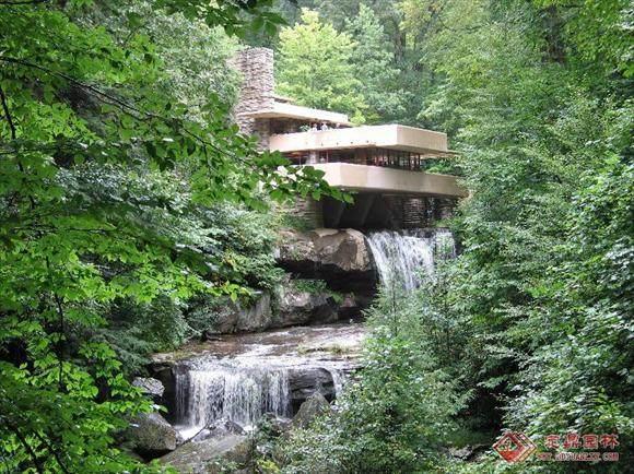 本世纪美国的一位最重要的建筑师----流水别墅_01075822798257265.jpg