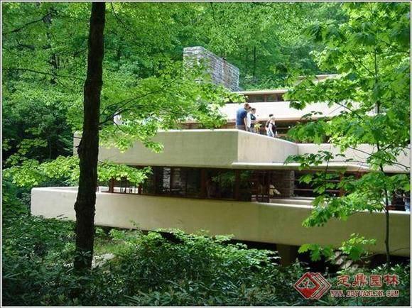 本世纪美国的一位最重要的建筑师----流水别墅_01080116306791817.jpg