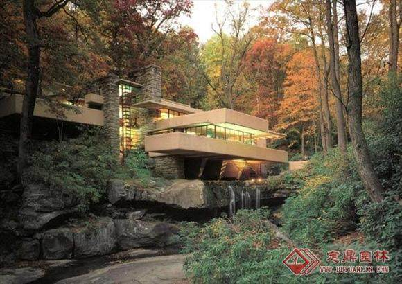 本世纪美国的一位最重要的建筑师----流水别墅_010801182010749551.jpg