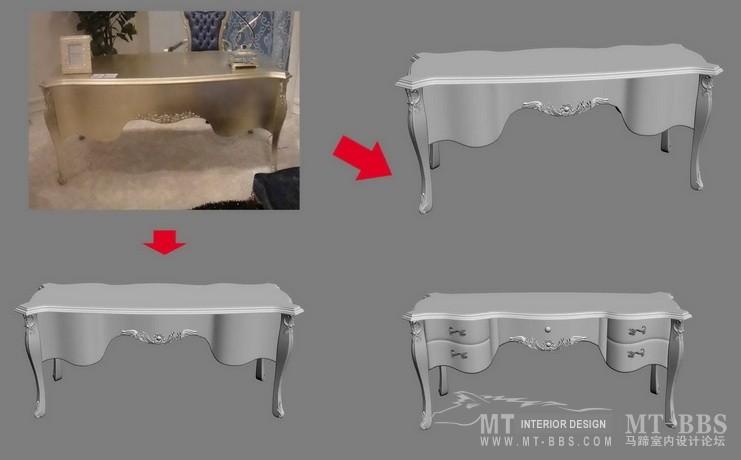 【绝对经典】新古典家具之宫廷壹号家具3D模型!解压后1.07G_歌德班台.jpg