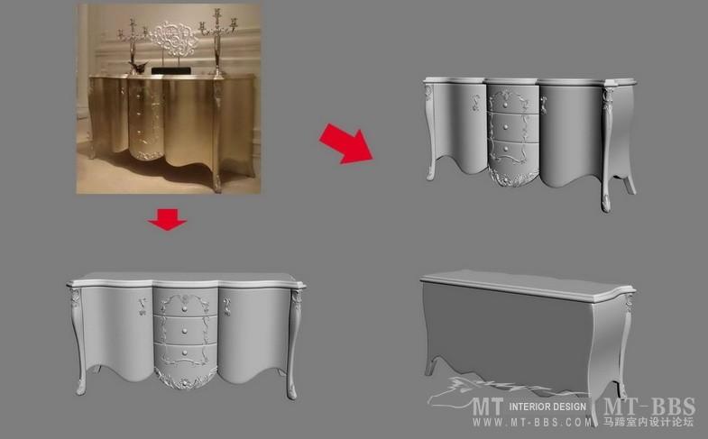 【绝对经典】新古典家具之宫廷壹号家具3D模型!解压后1.07G_歌德餐边柜.jpg