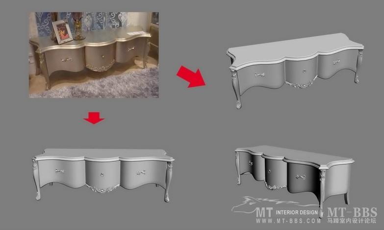 【绝对经典】新古典家具之宫廷壹号家具3D模型!解压后1.07G_歌德地柜.jpg