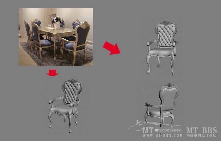 【绝对经典】新古典家具之宫廷壹号家具3D模型!解压后1.07G_歌德扶手椅.jpg