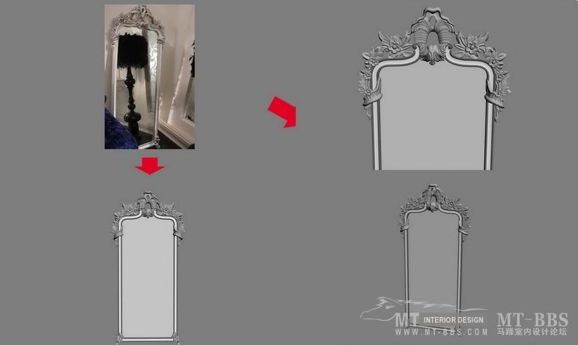 【绝对经典】新古典家具之宫廷壹号家具3D模型!解压后1.07G_花语浅色立镜.jpg
