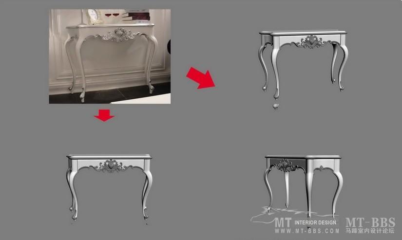 【绝对经典】新古典家具之宫廷壹号家具3D模型!解压后1.07G_花语浅色玄关.jpg