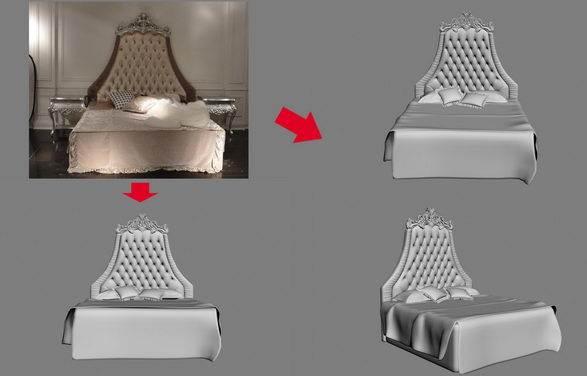 【绝对经典】新古典家具之宫廷壹号家具3D模型!解压后1.07G_依莱1.8m床.jpg