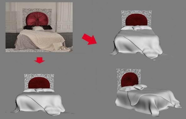 【绝对经典】新古典家具之宫廷壹号家具3D模型!解压后1.07G_依莱1.8m床-YL-A9001-2.jpg