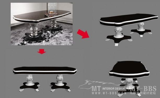 【绝对经典】新古典家具之宫廷壹号家具3D模型!解压后1.07G_依莱2.4m餐桌.jpg