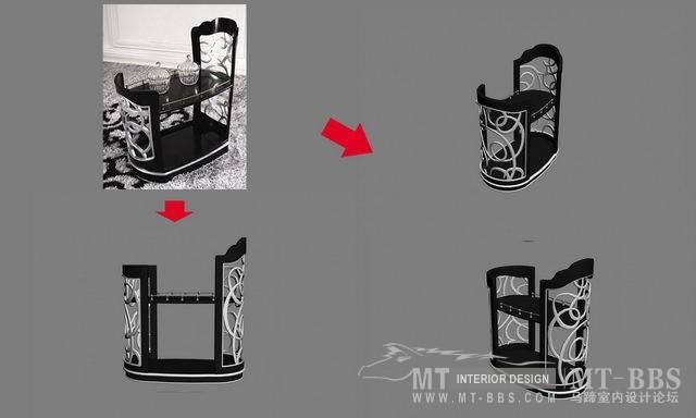 【绝对经典】新古典家具之宫廷壹号家具3D模型!解压后1.07G_依莱餐车.jpg