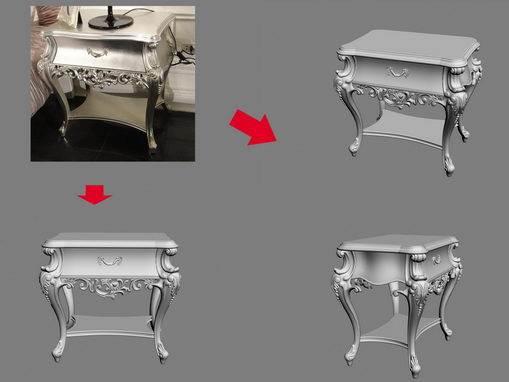 【绝对经典】新古典家具之宫廷壹号家具3D模型!解压后1.07G_依莱床头柜.jpg