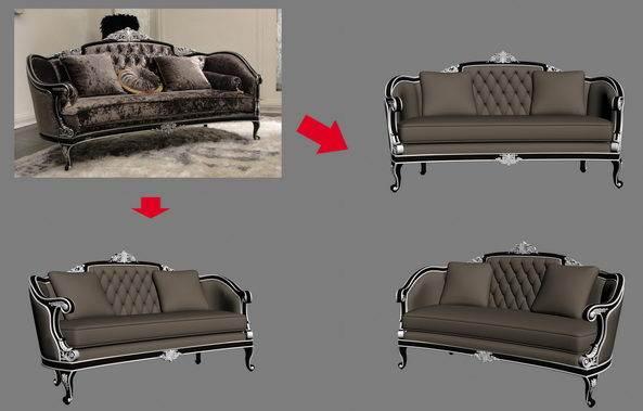 【绝对经典】新古典家具之宫廷壹号家具3D模型!解压后1.07G_依莱三人沙发.jpg